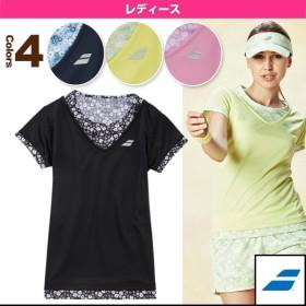 バボラ テニス・バドミントンウェア(レディース)  ゲームシャツ/レディース(BAB-1692W)