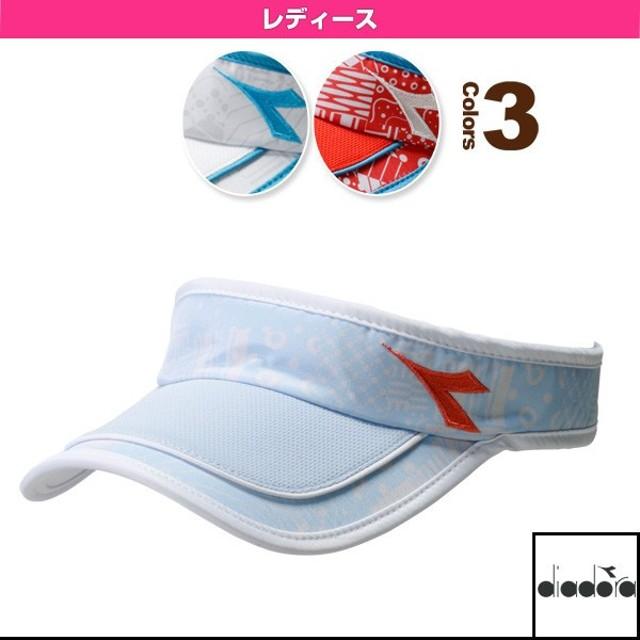 ディアドラ テニスアクセサリ・小物  W サンバイザー/レディース(DTA8340)