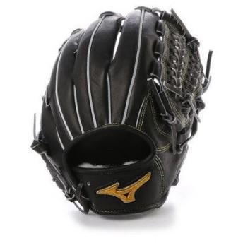 ミズノ MIZUNO BSS ユニセックス 軟式野球 野手用グラブ スピードドライブテクノロジー 1AJGR14013 MZ09 (ブラック)