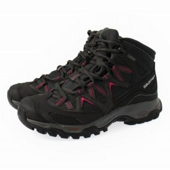 SALOMON(サロモン) CROSSROAD MID GTX WIDE W L39965300 : ブラック レディース トレッキング シューズ 登山靴