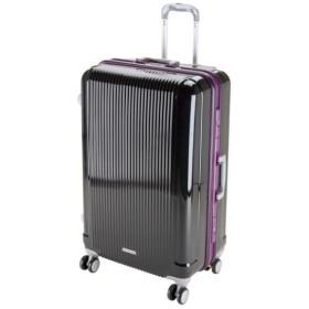 CAPTAIN STAG(キャプテンスタッグ) グレル トラベルスーツケース(TSAロック付ハードフレームタイプ)〈L〉(ブラック) UV0010