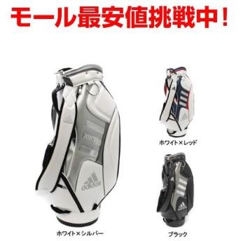 adidas アディダス AWT81 キャディバッグ 9.5型 ピュアメタルキャディバッグ2 メンズ ゴルフ golf5 キャディーバック