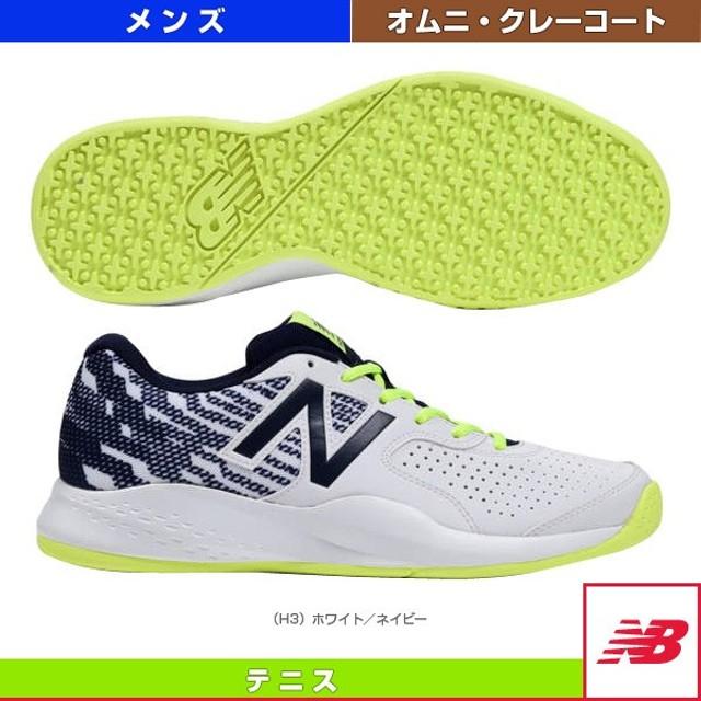 9c33696a254f9 ニューバランス テニスシューズ MCO696/2E(標準)/オムニ・クレーコート用/