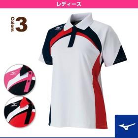 ミズノ テニス・バドミントンウェア(レディース)  ゲームシャツ/レディース(62MA5204)