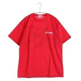 ヨネックス YONEX テニスTシャツ ドライTシャツ RWAP1602 レッド  (クリスタルレッド)