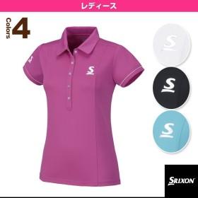 スリクソン テニス・バドミントンウェア(レディース)  ポロシャツ/レディース(SDP-1668W)テニスウェア女性用