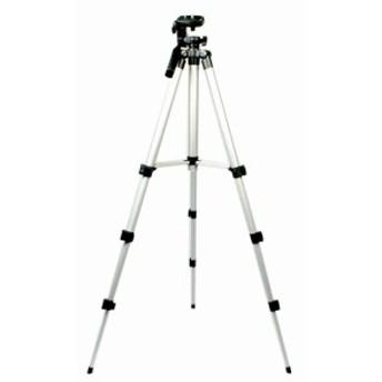 デジカメスタンド 水平器付 一眼レフカメラ/ビデオカメラ対応 106cm 軽量アルミ製コンパクト三脚 専用ケース付き4段コンパクトアルミ三脚