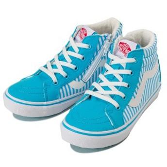 キッズ 【VANS】 ヴァンズ SK8-HI スケートハイ V38CJ ICE BLUE 15cm