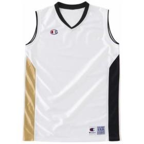 Champion(チャンピオン) WOMENS バスケット ゲームシャツ CBLR2203 WK Wブラック XXL