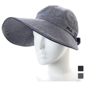 フィラ レディース キャップ FLW DOT HATCLIP JOCKEY (185-313006) 帽子 FILA UV対策 熱中症 暑さ対策