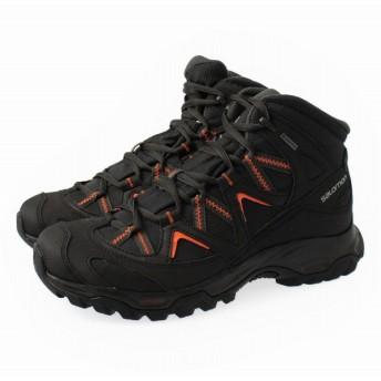 SALOMON(サロモン) CROSSROAD MID GTX WIDE L39965200 : ブラック メンズ トレッキング シューズ 登山靴