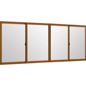 LIXILインプラス 引き違い窓 4枚建[単板ガラス] 4mm不透明ガラス:[幅1500〜2000mm×高258〜600mm]【トステム】【リクシル】【LIXIL】【引違い】【内窓】【二重