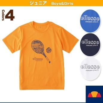 エレッセ テニスジュニアグッズ ラケットティーシャツ/Racket Tee/ジュニア(EM18102)