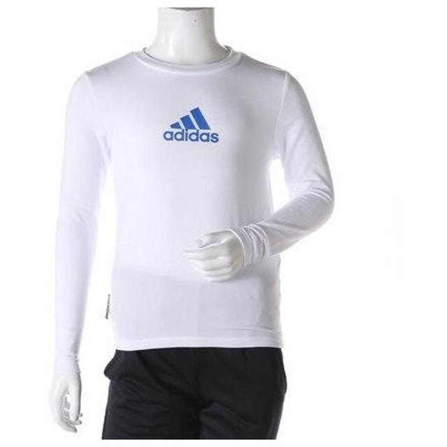 アディダス adidas ジュニア 長袖機能Tシャツ Boys CLIMAWARM クルーネック 長袖Tシャツ AZ7465