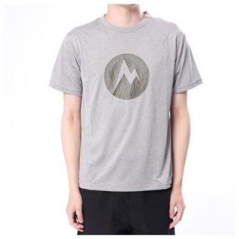 マーモット Marmot メンズ トレッキング 半袖Tシャツ Marble Dot H/S T TOMLJA58