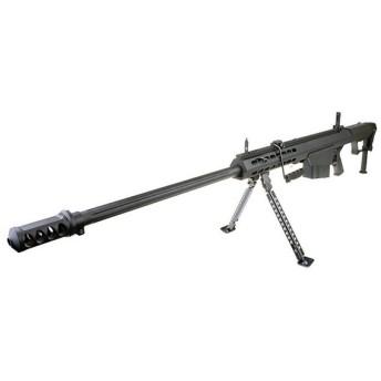 【限定!60%OFF!】SNOW WOLF BARRETT M107A1 電動ガン BK