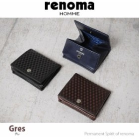 レノマ renoma 小銭入れ グレ 525601 【メンズ】【コインケース】【革】【送料無料】【財布】【送料無料】