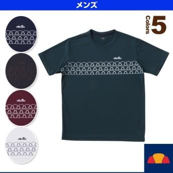 エレッセ テニス・バドミントンウェア(メンズ/ユニ) ハーフボールティー/Halfball Tee/メンズ(EM18300)