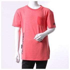 アディダス adidas ジュニア 半袖機能Tシャツ Girls ESS バックボーダー ポケットTシャツ BR1211