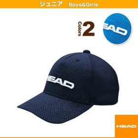 ヘッド テニスジュニアグッズ  JUNIOR CAP/ジュニアキャップ/ジュニア(0382033)子供用帽子