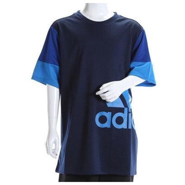 アディダス adidas ジュニア 半袖機能Tシャツ Boys ESS スーパービッグロゴ Tシャツ AP3706