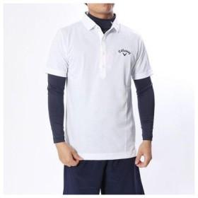 キャロウェイ Callaway メンズ ゴルフ セットシャツ 18MFCW トリコットピケ APベッチュウシャツ+インナーセット 2418257511