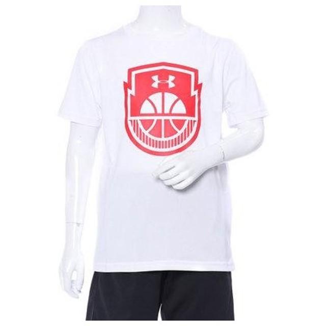 アンダーアーマー UNDER ARMOUR ジュニア バスケットボール 半袖Tシャツ UA Tech Y Basketball Icon 131354
