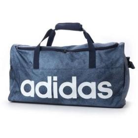 アディダス adidas ダッフルバッグ リニアロゴチームバッグM DJ1422 497 (グリーン)