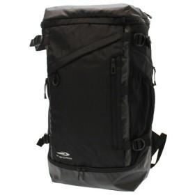 ティゴラ(TIGORA) メンズ リュック BOX型バックパック 35L:ブラック (TR BOX35)