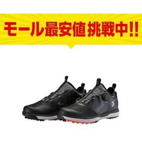 アンダーアーマー テンポスポーツボア2 3000218メンズ ゴルフ ダイヤル式スパイクシューズ Tempo Sport BOA 2 ブラック UNDER ARMOUR 18clearance