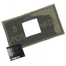 KA-AC-2161-WL-B ウッドランド&レトロリフレクターパッチ