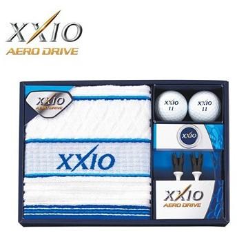 ダンロップ日本正規品XXIO(ゼクシオ)AERO DRIVE(エアロドライブ)ボールギフトGGF-F2071