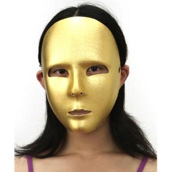 イタリア製 変装仮面マスク 金(本格仮装グッズ)