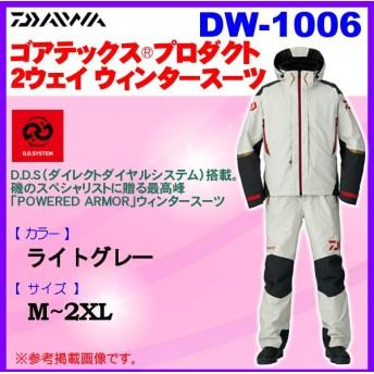ダイワ  ゴアテックス プロダクト 2ウェイ ウィンタースーツ  DW-1006  ライトグレー  M 6
