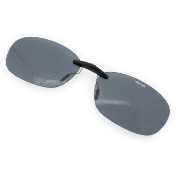 SWANS(スワンズ) SCP-12 SMK2 偏光スモーク サングラス クリップオン ゴルフ golf5 熱中症 暑さ対策 UV対策