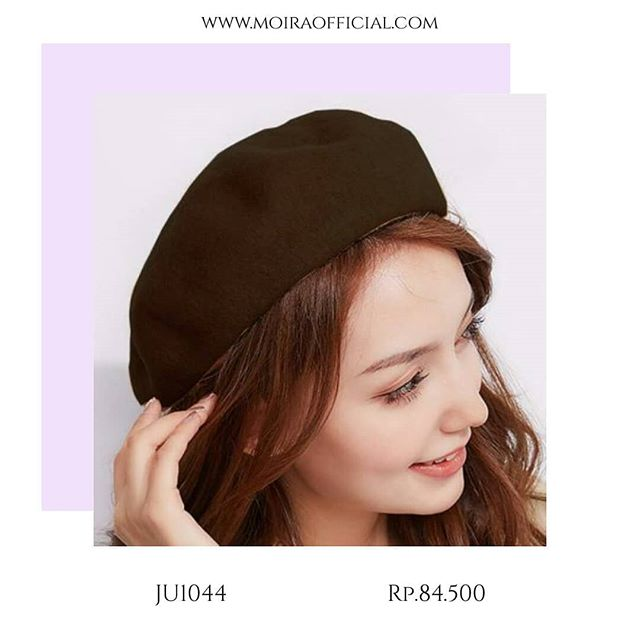 MOIR  Women Beret Painter Hat Topi Fashion Korea Import e605784660