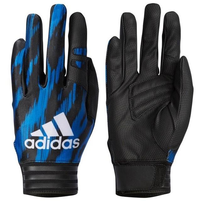 adidas アディダス 野球 守備用インナーグローブ 守備用手袋 5Tフィールディンググローブ FIELDINGG EN 一般 左手用 : ブルー DMU63 BS1245