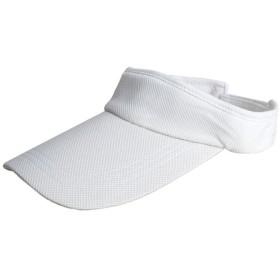 ノーブランド品 帽子 キャップ 男女兼用 夏 ゴルフ テニス スポーツ帽子 アクセサリー 贈り物 全7色 - ホワイト
