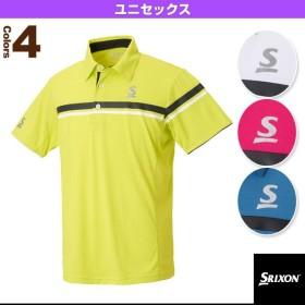 スリクソン テニス・バドミントンウェア(メンズ/ユニ)  ポロシャツ/ユニセックス(SDP-1801)テニスウェア男性用