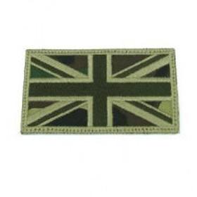 KA-AC-2149-OD IFF UK Embroidery Flag - OD