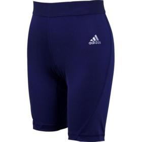 adidas(アディダス) ジュニア サッカー・フットサルウェア KIDS ALPHASKIN TEAM ショートタイツ EUV04 CW7347 DBLU J150