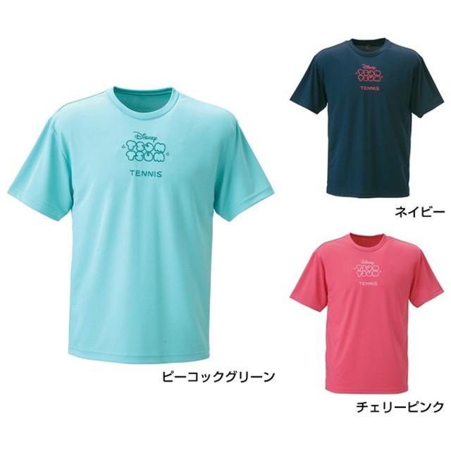 ディズニー TSUM TSUM ツムツム メンズ レディース テニス 半袖 Tシャツ DN-2TW3047TSTM