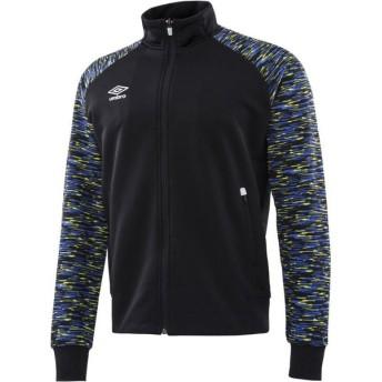 UMBRO(アンブロ) URA.スウェットジップジャケット メンズ サッカー・フットサルウェア ULULJF21 BLK ブラック O