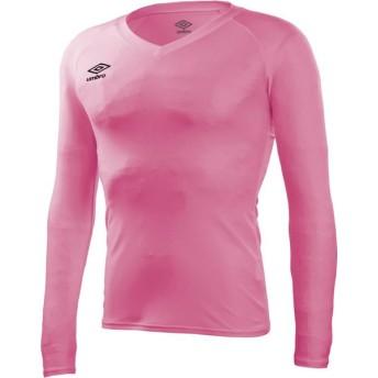 UMBRO(アンブロ) 【メンズ サッカー・フットサルウェア】 L/S パワーインナーVネックシャツ UAS9701L VPNK XO