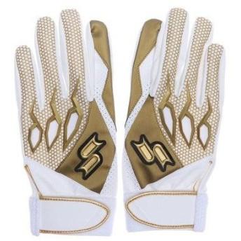 エスエスケイ SSK 野球 バッティング用手袋 一般 シングルバンド手袋 両手 EBG5000W