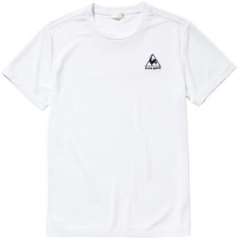 le coq sportif(ルコック) 【メンズ トレーニングウェア】 半袖シャツ QB012175 WHT ホワイト O