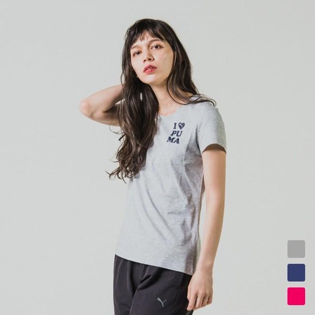 プーマ レディース 半袖Tシャツ SS TEE W 854111 PUMA
