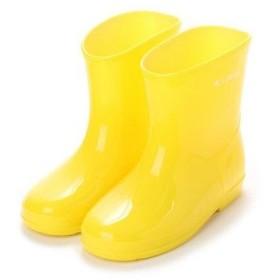 ケーズプラス K's PLUS 無地 シンプル レインシューズ スリップ防止 15cm-19cm キッズジュニアベビー男の子女の子長靴レインブーツ子供