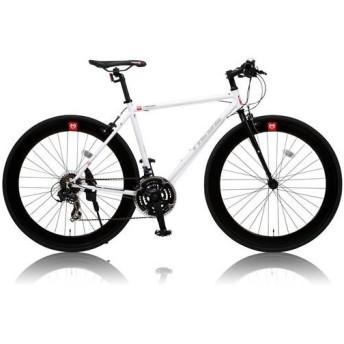 canover HEBE クロスバイク CAC-024 700×25C シマノ21段変速 ホワイト