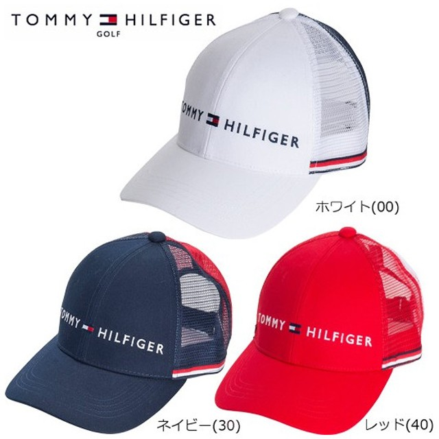 トミーヒルフィガー ゴルフ メッシュ キャップ(THMB805F)2018春夏